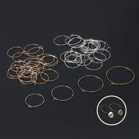 Большие круглые серьги Аксессуар 20 шт. Аксессуары для ушных крючков Handmade Ювелирные изделия DIY Части