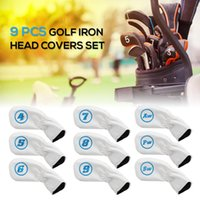PCS Golf Iron Head Covers Set Club Headcovers Outdoor Sports Camping Escursioni con elastico AIDS AIDS