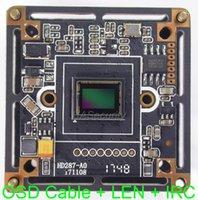 "5.0MP   4.0MP AHD 1 2.9"" SONY IMX326 CMOS Image Sensor + NVP2477H CCTV Camera PCB Board Module +OSD Cable +IRC +M12 LENs (UTC) IP Cameras"