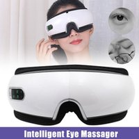 Wireless Bluetooth Eye Massager With Compress Intelligent Air Pressures Music Foldable Device M2 Electric Massagers