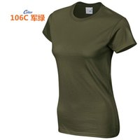 Women's T-Shirt High Quality 18 Color S-3XL Plain T Shirt Women Cotton Elastic Basic T-shirts Female Casual Tops Short Sleeve 002