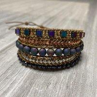 Charm Bracelets 4Unik Jewelry Handmade Boho Fashion Bead Bracelet For Women Girls Drop Winning Product