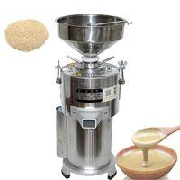 15kg / h eléctrico manteca de mantequilla de mantequilla de mantequilla de sésamo salsa de fresado Pasta de fabricación de procesadores
