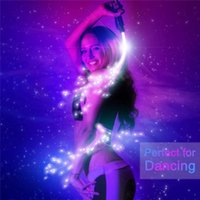 USB Chargeable LED Fiber Optic Whip Gadget Dance Luminous Hand Rope Flash Whips Atmosphere Props for Dancer Festival Holiday Party
