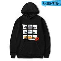 Mens Designer Camisetas Inicial D Hoodie Moda Impressão Toyota AE86 Nissan R32 Mazda RX-7 FC3S Homens Mulheres Harajuku Anime Suéter