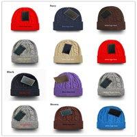 الأزياء محبوك بيني الجمجمة قبعات الهيب هوب الشتاء الدافئة قبعة الصوف القبعات للنساء الرجال جورو بونيه بولو قبعة بالجملة