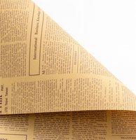 Papier d'emballage de bouquet de fleur de papier