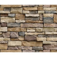 Wall Stickers 3D Stone Brick Wallpaper Removable PVC Sticker Home Decor Art Paper For Bedroom Living Room Background Decal