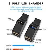 Computer portable mini USB splitter HUB extension 3.0