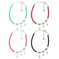 Pet Dog Leash Quality Adjustable Cute Necklace Collars With Bell For Most Of Cat Supply Harness Tools & Leashes