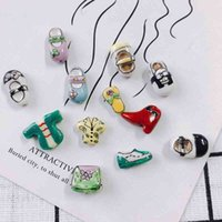 DIY jewelry accessories hand-painted clothes shoes bags straight hole loose beads