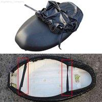 غطاء مقعد دراجة نارية عالمية مع حزام مرن إلكتروني دراجة رينكبوف كم غطاء حماية للماء في الهواء الطلق