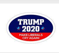 جديد ترامب سيارة ملصقات عاكسة تجعل أمريكا كبيرة مرة أخرى 2020 ترامب ملصقات الرئيس الأمريكي دونالد ترامب سيارة راية ملصقا