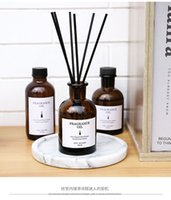 Aromaterapia libre de incendios Conjunto de aceite esencial WinesHopl Inodoro interior Decoraciones de perfume volátiles de aire líquido Fragancia