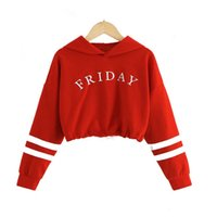 2020 Kids Hoodies For Girls Teen Sweatshirts Girl Clothing Children Hippop Tops Tracksuit F1202