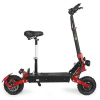 BEZIOR-S2 Scooters Smart Electric Scooter foldable KickScooter 48V21Ah battery 2400W dual motor controller speed up to 65Km/h 11-inch wheels can climb 45° Load 120kg