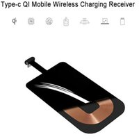 Type C USB-C Qi 무선 충전기 Android 스마트 폰용 유니버셜 타입 C 휴대폰 충전기 용 수신기 모듈