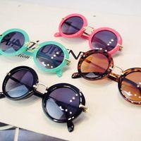 Детские солнцезащитные очки для девочек мальчиков Очки смолы Линзы Детские дети Аксессуар UV400 Ультрафиолетовое леопард B5660