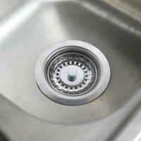 جودة عالية 79.3 ملليمتر 304 الفولاذ المقاوم للصدأ المصارف المطبخ بالوعة مصفاة سدادة النفايات المكونات تصفية الحمام حوض استنزاف 1147 T2