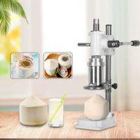 NewCommercial alavanca de alavanca abre abridores de mão prensa de coco verde holing máquina máquina pequena manual fresco cocos orifício máquinas de perfuração Ewe7410