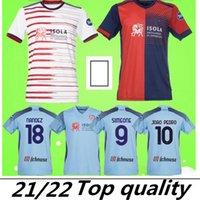 21 22 Cagliari Calcio Futbol Formaları Üçüncü 2021 2022 Godin Joao Pedro Nandez Nainggolan Marin Simeone Sottil Oliva Pavoletti Maglie Da Futbol Gömlek Top Tayland