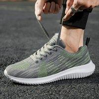 2021 Klasik Rahat Rahat Ayakkabılar Erkek Nefes Erkek Atletik Ayakkabı Sinek Dokuma Jogging Ayakkabı Yüksek Kaliteli Hafif Moda Siyah Beyaz H510