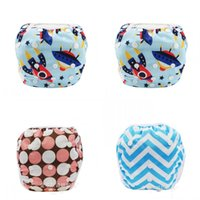 17 colori Unisex Formato libero Impermeabile Impermeabile Swim Diaper Piscina Piscina Pantalone Pantalone Diaffo Baby Riutilizzabile Piscina per piscina Lavabile 361 J2