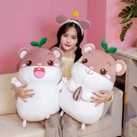 25 cm muñecas de peluche juguete suave de algodón pequeño hámster flauta muñeca para niños cama para niños almohada para dormir lindo ratón regalos de navidad y cumpleaños