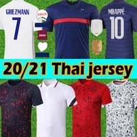 20 21 France Mbappe Griezmann Pogba Jerseys Francese Soccer Jersey Camicie da calcio Maillot de Foot Uomo + Kids Kit Thailandia