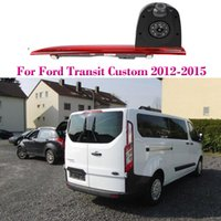 Car Rear View Reverse Back Up Parking Dual Camera for Ford Transit Custom 2012~2015 Night Vision Waterproof For Brake Light Cam