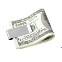 Nuova moda maschile in alluminio mini cash sacchetto di denaro clip sottile portafoglio borsa con carta di credito con carta di credito multi colore accessori EWD6778