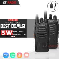 Baofeng BF-888S Walkie Talkie 888s UHF 5W 400-470MHz BF888s BF 888S H777 Cheap Two Way Radio with USB Charger H-777 5R UV 82