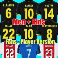 21 22 Bob Marley Tadic Berghuis Gravenberch Camiseta دي Fútbol Amsterdam Kudus أعمى برادات Haller Neres Crueff Klaassen Ajax Hombres Camiseta de Fútbol Camiseta
