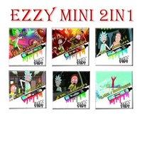 100% original RM EZZYY 2 en 1 diseño de cigarrillos electrónicos Vape desechable 800mAh batería 6.8ml POD 1800 Puffs EZZY MINI 2IN1 VAPES
