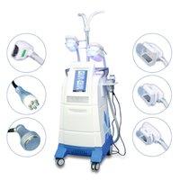 Alta Qualidade de 360 graus Cryo Loss perda de peso Slimming Vacuum RF Ultrasonic Cavitação Gordura Fio Machin