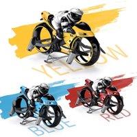 2.4G RC Land-Air Motorcycle 2in1 Мини Летающий мотоцикл Пульт дистанционного управления Автомобиль Высокоскоростной Дрифт Мотоцикл Мотоцикл С Легкой Детской Игрушечником 07