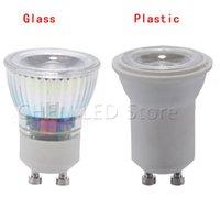 Ampoules LED LED MINI GU10 MR11 MR11 MR11 220V 5W 35MM Spot Lumière Lumière Lampe Chaud / Cool Blanc Plastic Plastic Remplacer le halogène Accueil