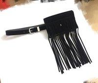 Belts Korean Waist Belt Bag For Women Pack Simple Designer Fanny Tassel Removable Waistband