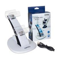 Contrôleur LED Contrôleur Chargeur Berceau Stand Éléments LightPeight GamePad Dock pour Sony PS5 Joystick Dual USB Station de recharge