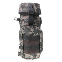 Water Bottles & Cages Outdoor Tactical Molle Loop Bottle Pouch Kettle Strap Shoulder Bag 4 C