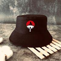 2021 kakashi summer hat ladies men panama bucket hat design flat shade fisherman hat anime sun cartoon baseball cap