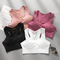 Удароженные бегущие фитнес женщины регулируемые не стальные кольца спортивные бюстгальтер продукта Sujetador Deptivo Sexy Vest-Style Push Up outfit