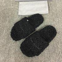 designers Women Ladies wool Slippers Slides Winter fur Fluffy Furry Warm letters Sandals Comfortable Fuzzy Girl Slipper woman shoe