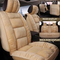 Car Seat Covers Plush Cover Universal Protector Automobiles Cushion Warm Carpet Mat Winter Seat-cover Car-Styling