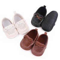 Baby Shoes First Walkers Newborn Shoe Girls Boys Infant Footwear Moccasins Soft Toddler Wear Casual Spring Autumn Hollow Leather 0-1T B8740