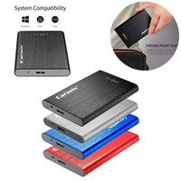 "2.5 ""HDD SSD USB 3.0 5400RPM Hard Drives ESTERNE 500 GB 1 TB 2TB Storage mobili Disco portatile per PC Laptop Desktop"