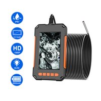 3.9mm 산업 내시경 카메라 1080P HD 4.3 인치 IPS 스크린 파이프 배수구 덕트 검사 IP67