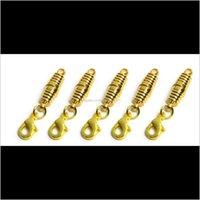 Ganci siergold placcato magnetico magnetico magnetico a forma di cesps per collana braccialetto gioielli fai da te AK3NT D6ZGT