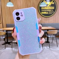 Custom cell phone cases 2021 Wholesale Soft Shockproof Candy Color Silicon tpu mobile Cover For iphone 12 12pro 12promax