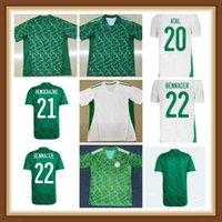 2021 Mahrez Futbol Forması Hayranları Oyuncu Sürümü Maillot Cezayir 20 21 ATAL Feghouli Slimani Brahimi Ev Uzakta Bennacer Erkekler Çocuklar Futbol Gömlek